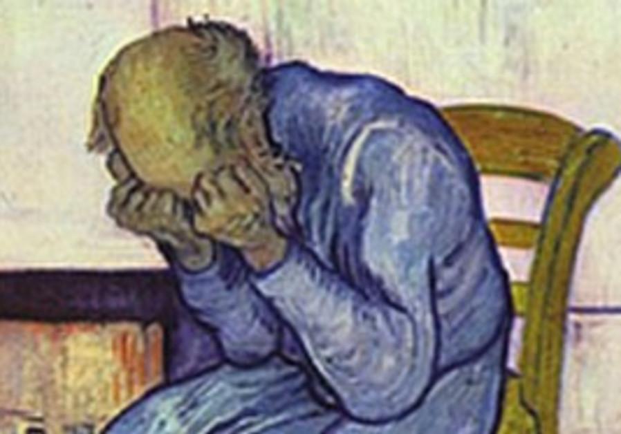 Illustration of depression