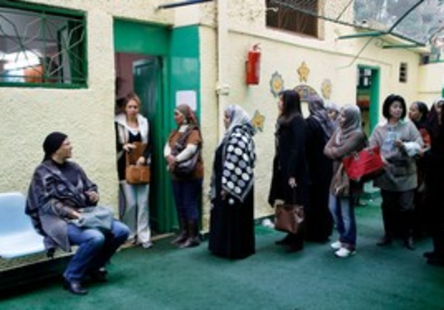 Egyptians vote in elections