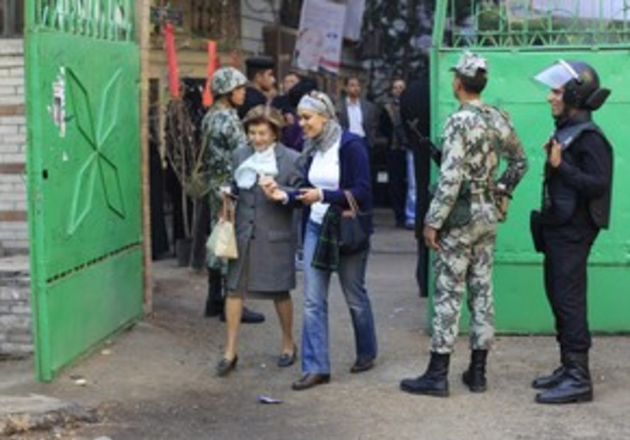 Egyptians vote