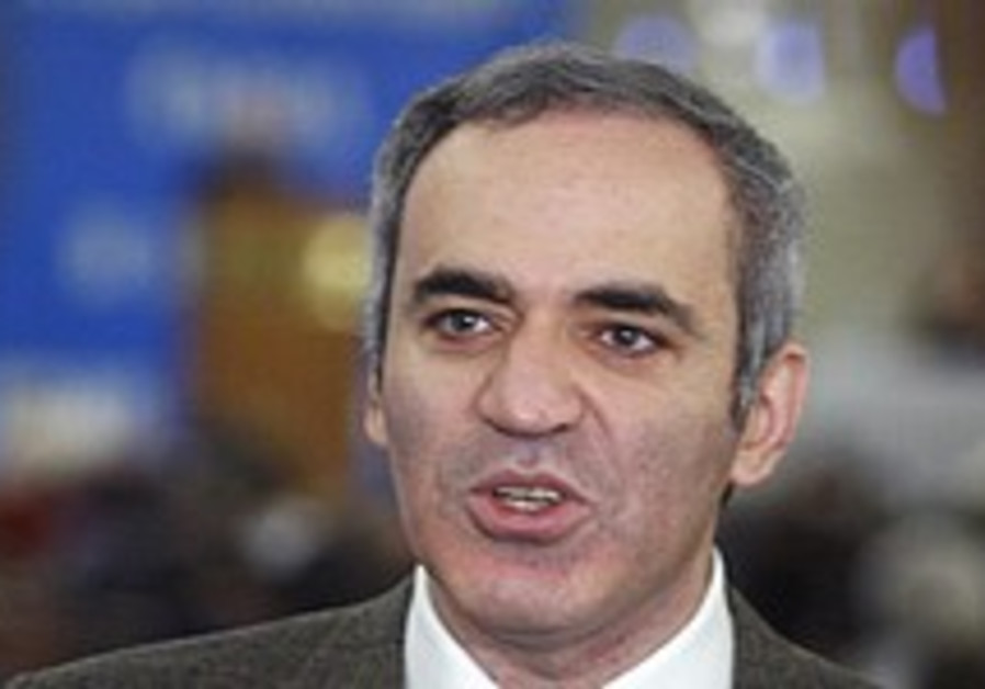 Spokeswoman: 'Kremlin blocked Kasparov from running for presidency'