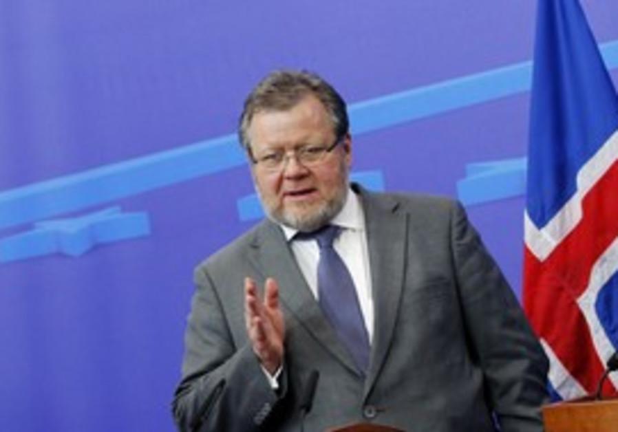 Iceland Foreign Minister Össur Skarphedinsson