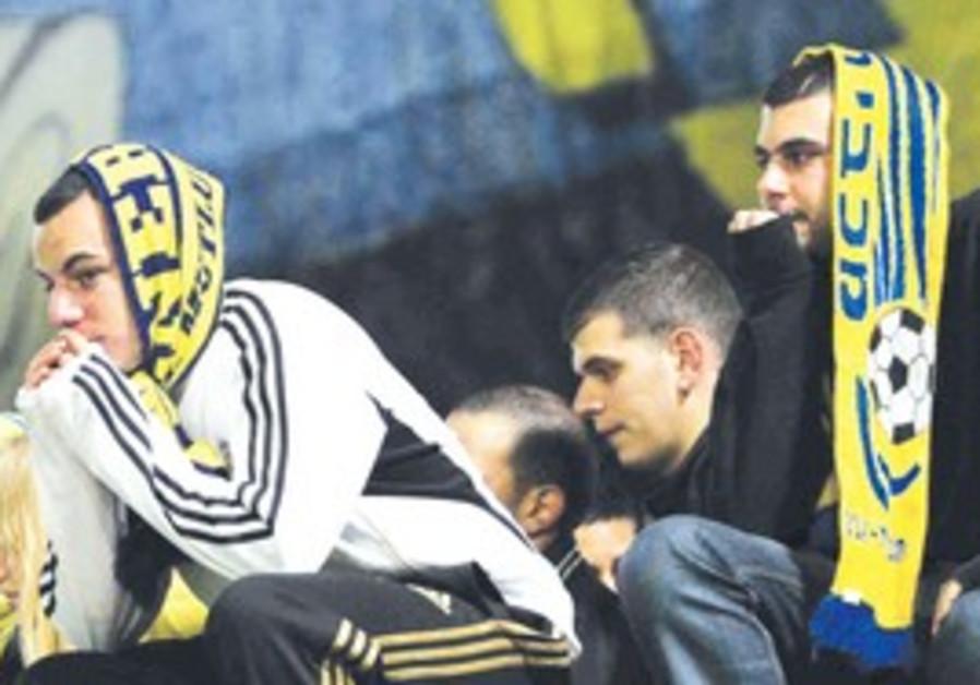 Maccabi Tel Aviv fans long for better days.