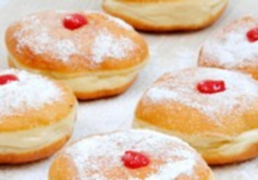 sufganiyot, Hannukah donuts