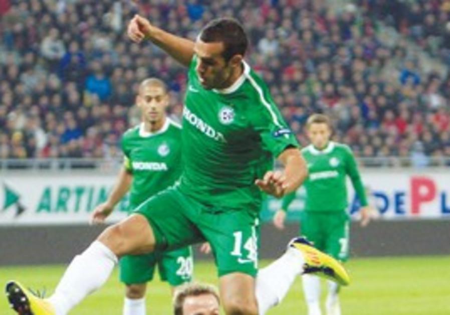 Maccabi Haifa's Weeam Amasha