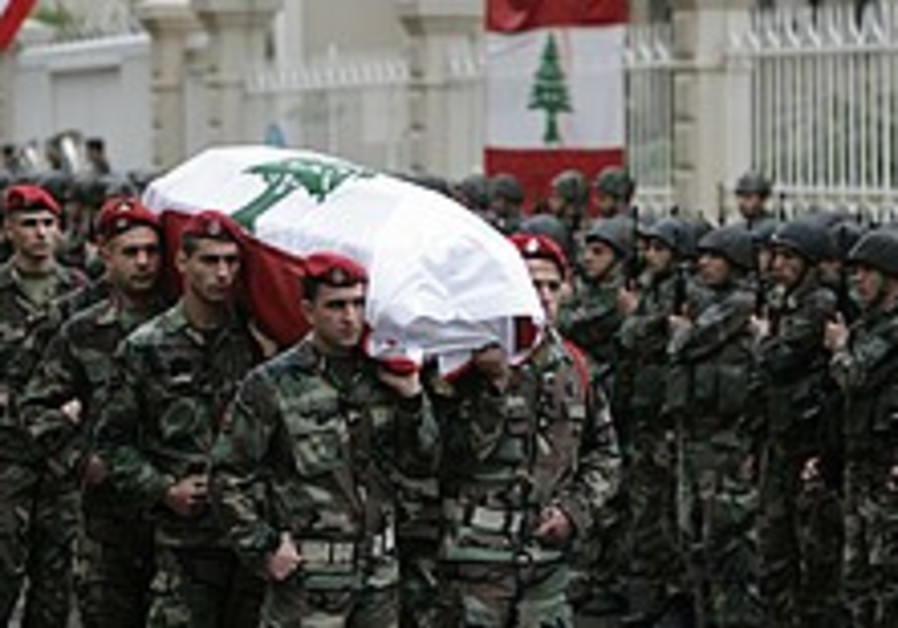 Lebanon bids farewell to army general slain in car bombing