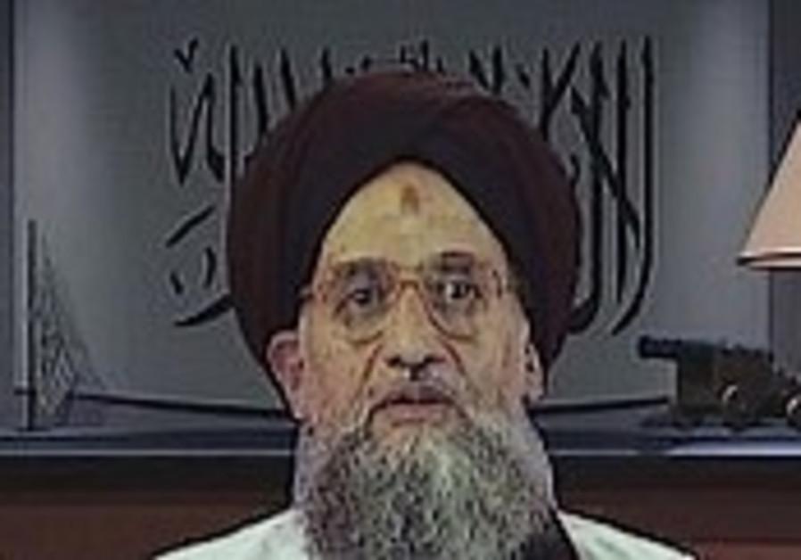 Zawahri: Annapolis 'betrayal' of Palestinians