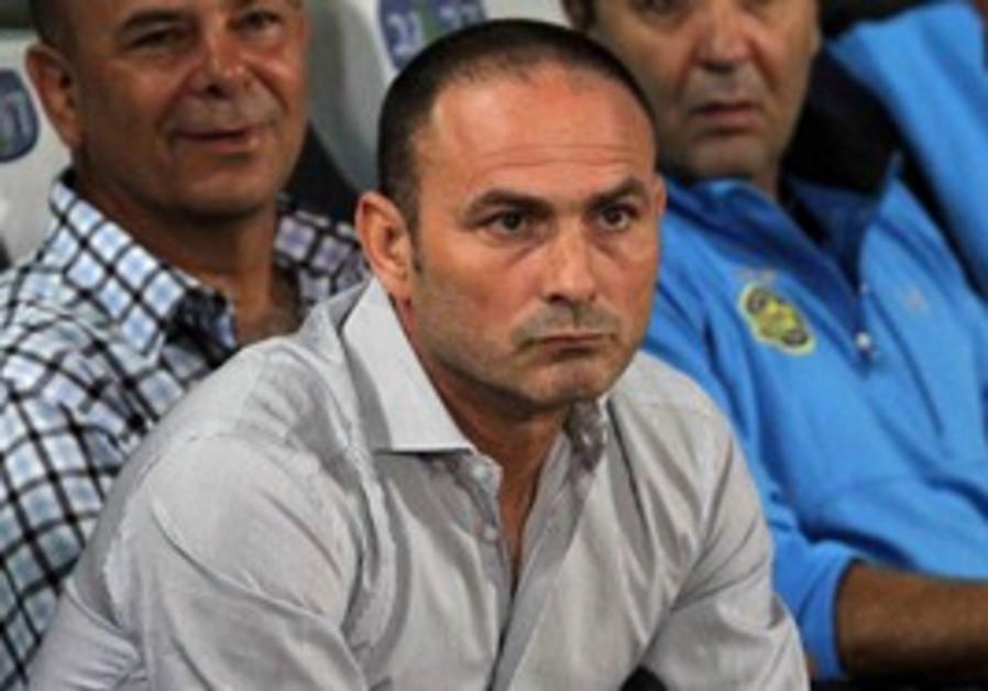Maccabi Tel Aviv coach Moti Ivanir