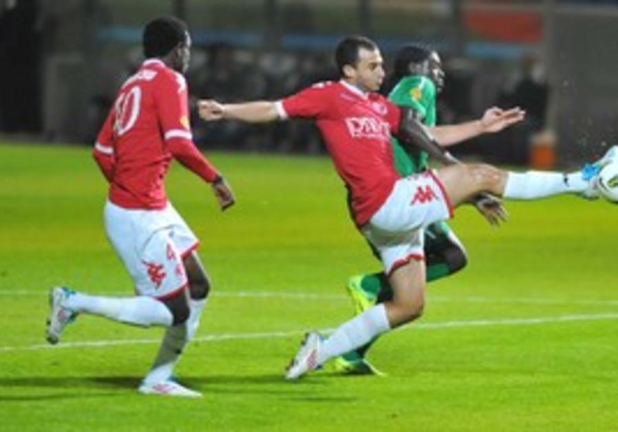 HAPOEL TEL AVIV'S Omer Damari