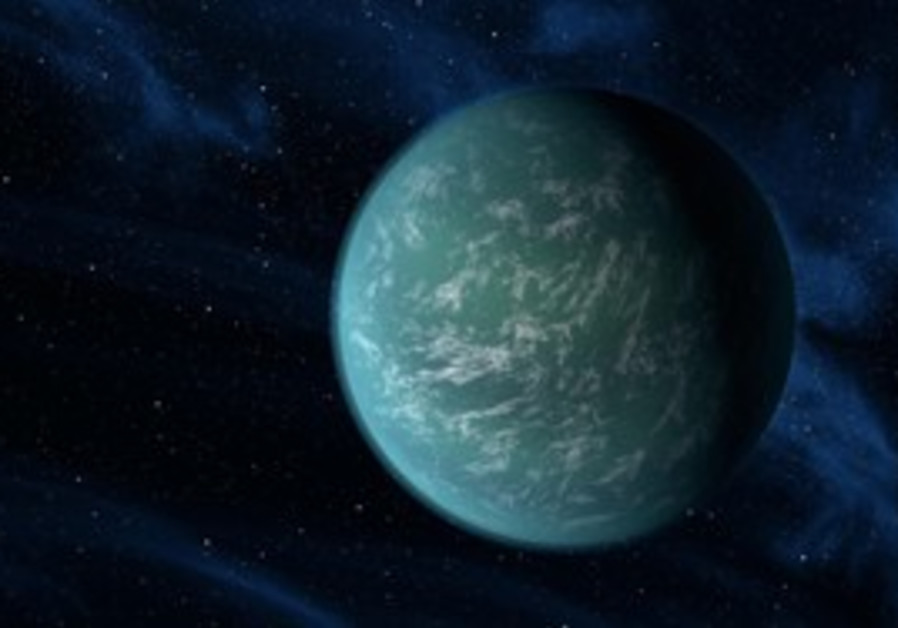 Artist's rendition of Kepler-B planet