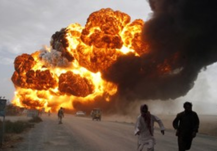 Afghanistan bomb explosion