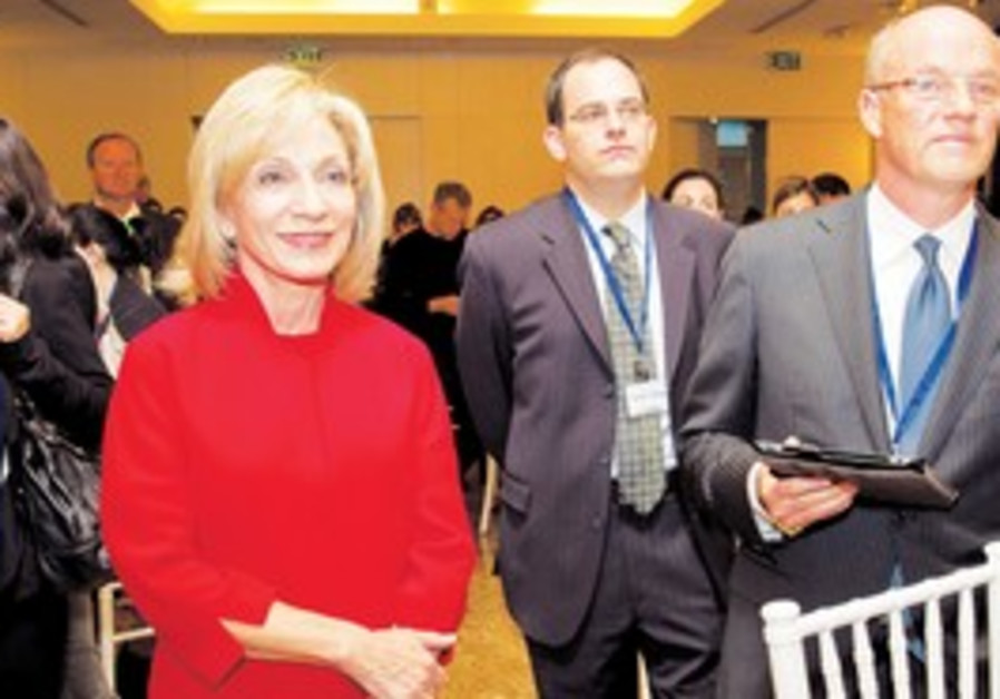 MSNBC's Andrea Mitchell and Phil Griffin.