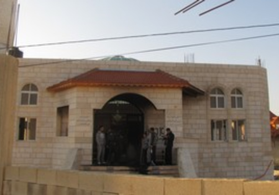 Mosque attacked in Brukin