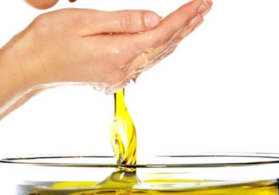 Olive oil face wash