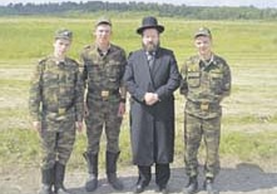 Russian army gets 1st chief rabbi since 1917 revolution