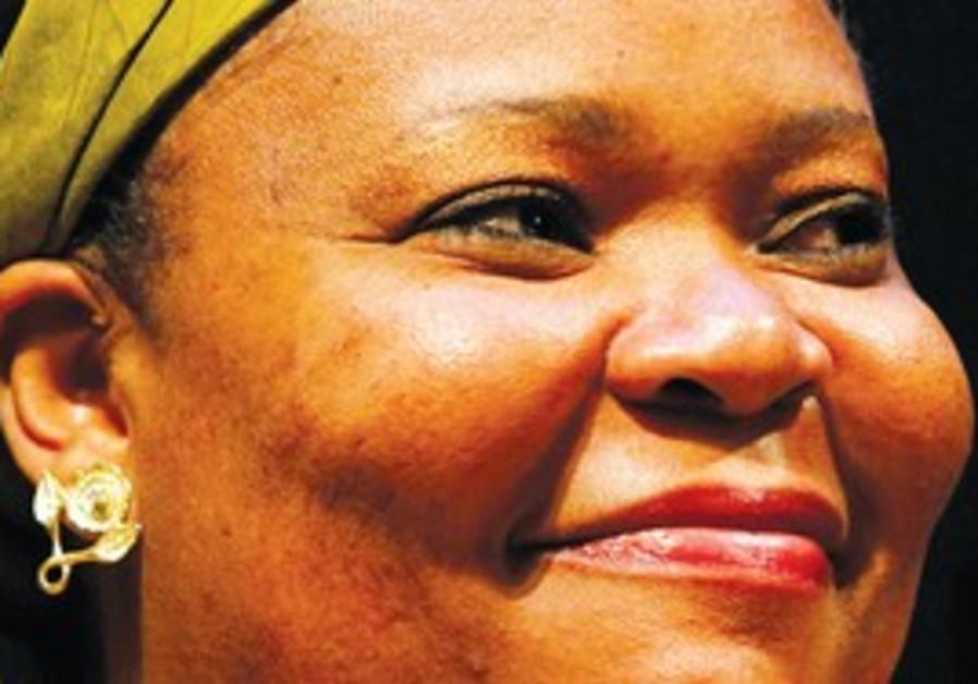 Nobel prize winner Leymah Gbowee