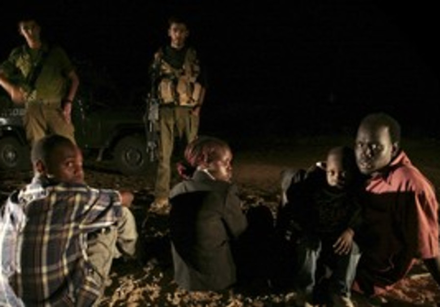 Sudanese detained after crossing southern border
