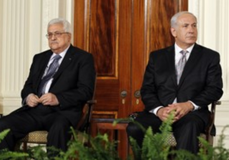 Prime Minister Netanyahu and PA President Abbas