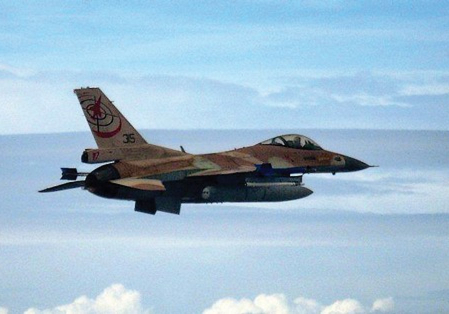 AN IAF plane takes part in joint maneuvers with It