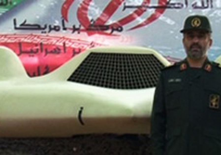 Hajizadeh and downed US drone