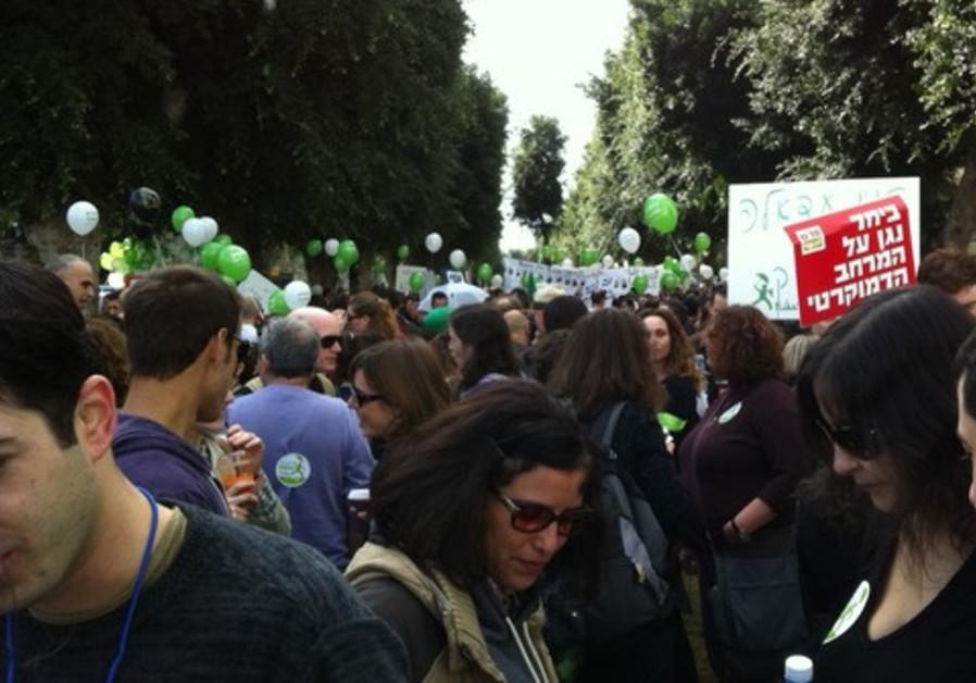 Tel Aviv Human Rights March