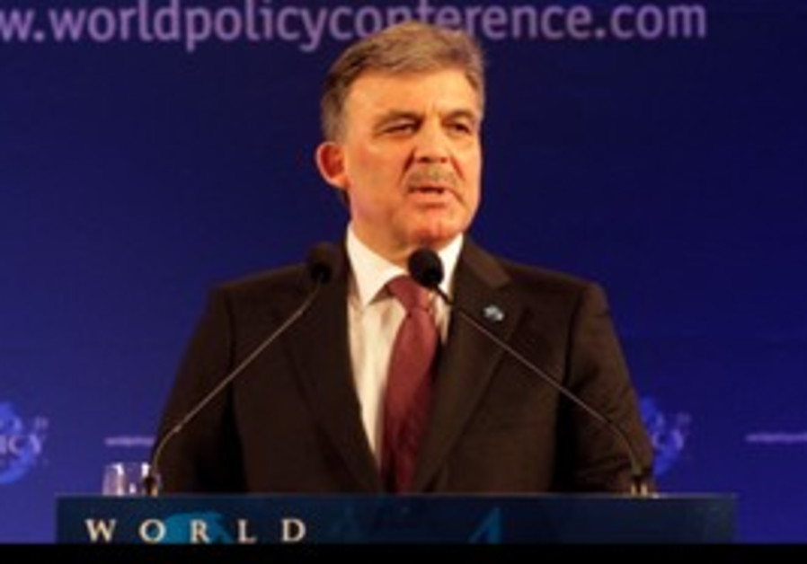 President Abdullah Gul, World Policy Conference