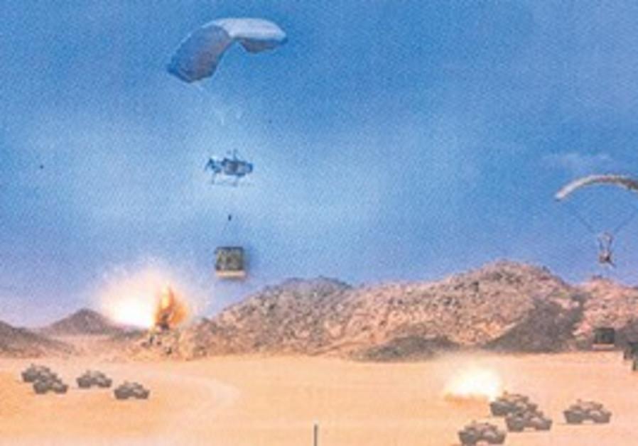 Flying Elephant parachute