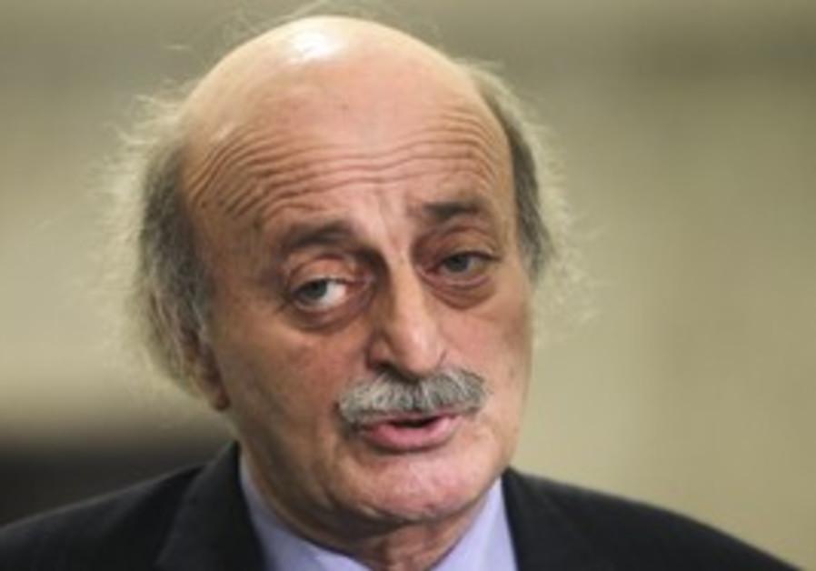 Lebanon's Druse leader Walid Jumblatt.