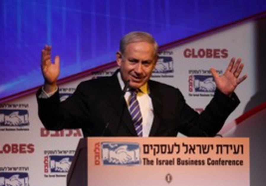 PM Netanyahu speaks at Globes conference in TA
