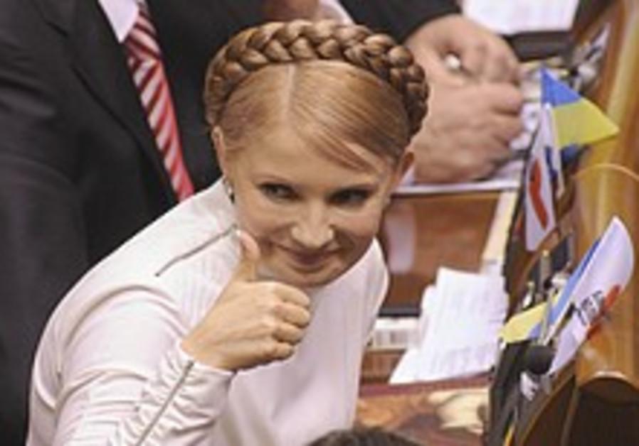Pro-Western Yulia Tymoshenko elected Ukrainian PM
