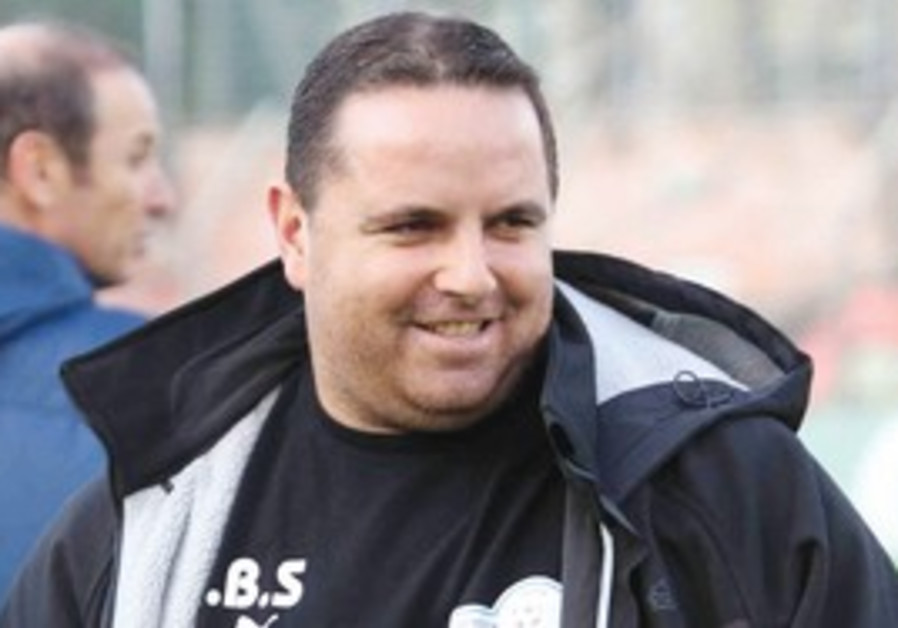 Ironi Kiryat Shoman coach Ran Ben Shimon