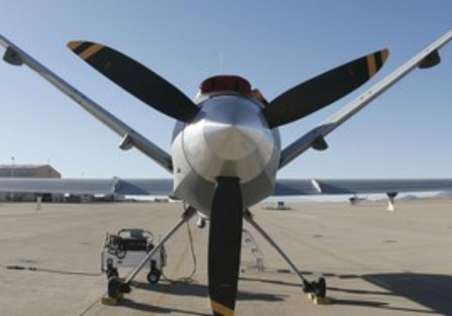 turboprop MQ-9 Predator B drone