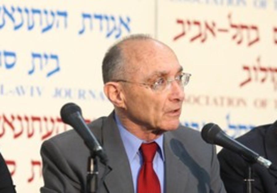 Energy and Water Minister Uzi Landau