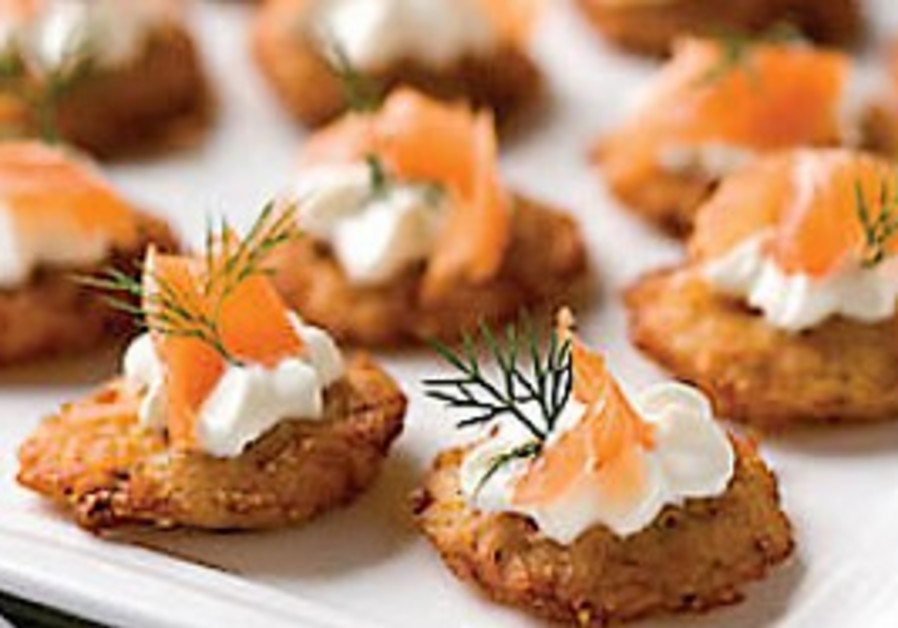 Holiday latkes with a twist