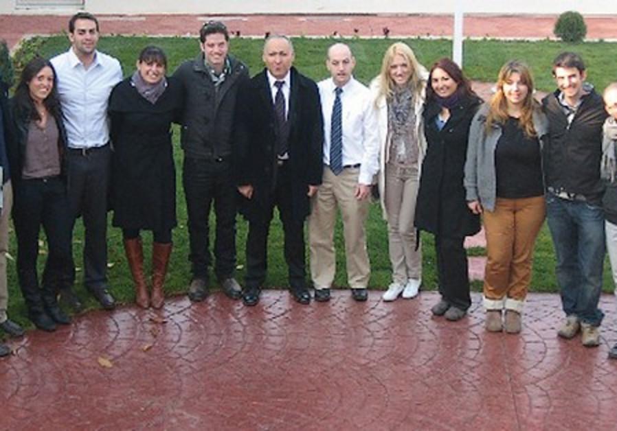 THE STANDWITHUS students in Belgrade.