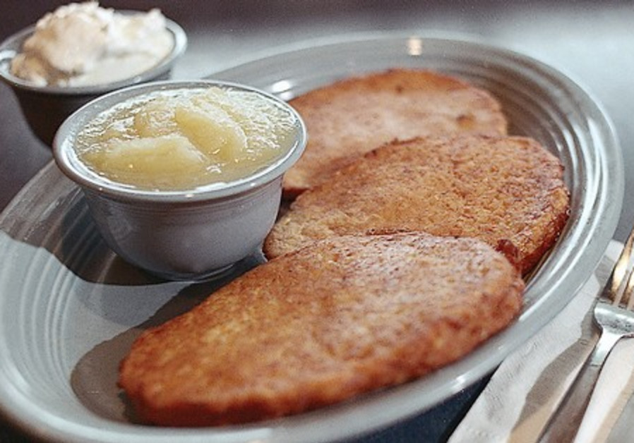 OUR CLASSIC potato latkes appear to have come to u