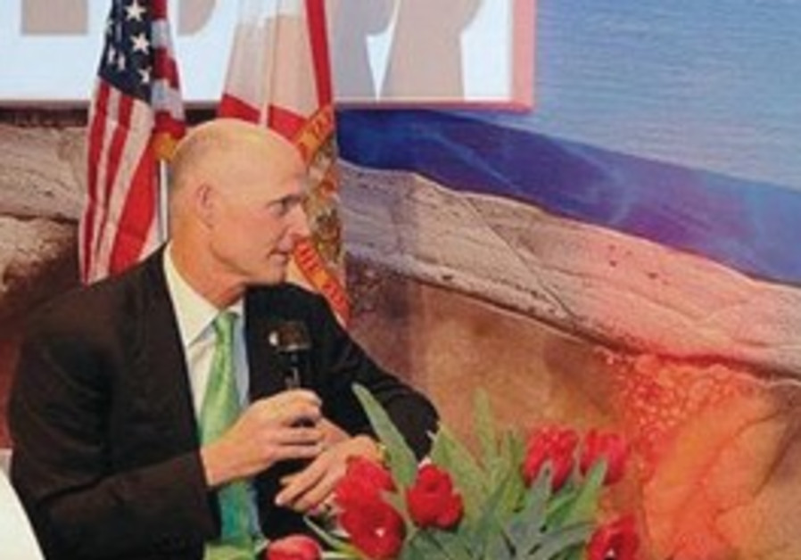 Florida Governor Rick Scott in Israel