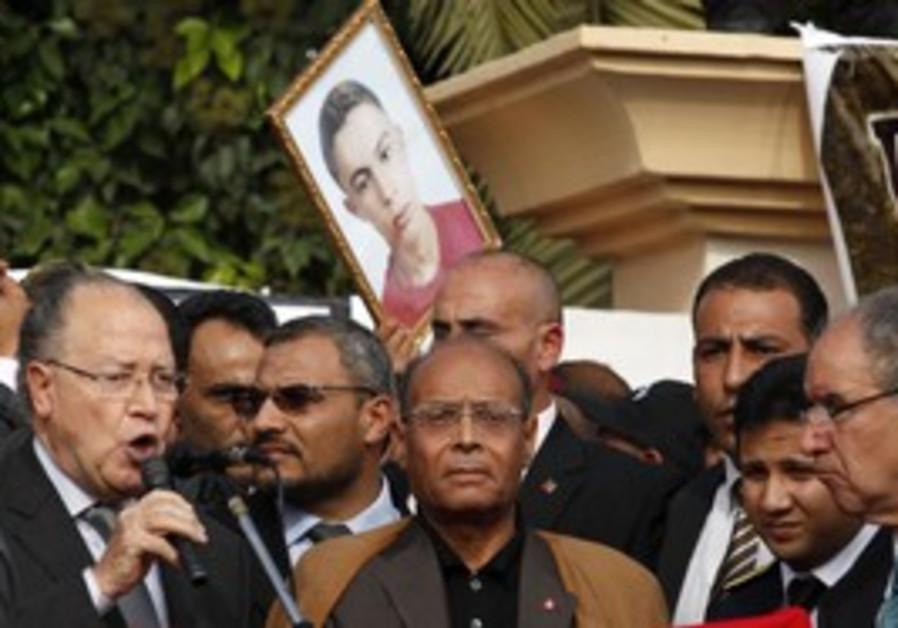 Tunisia Pres Marzouki marks Arab Spring
