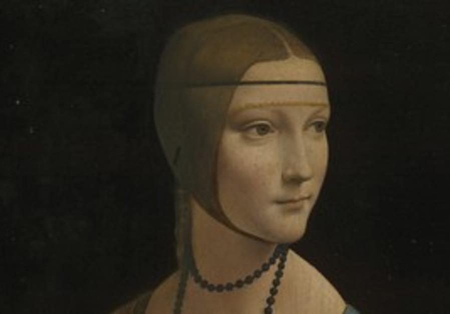 LEONARDO DA VINCI: Portrait of Cecilia Gallerani