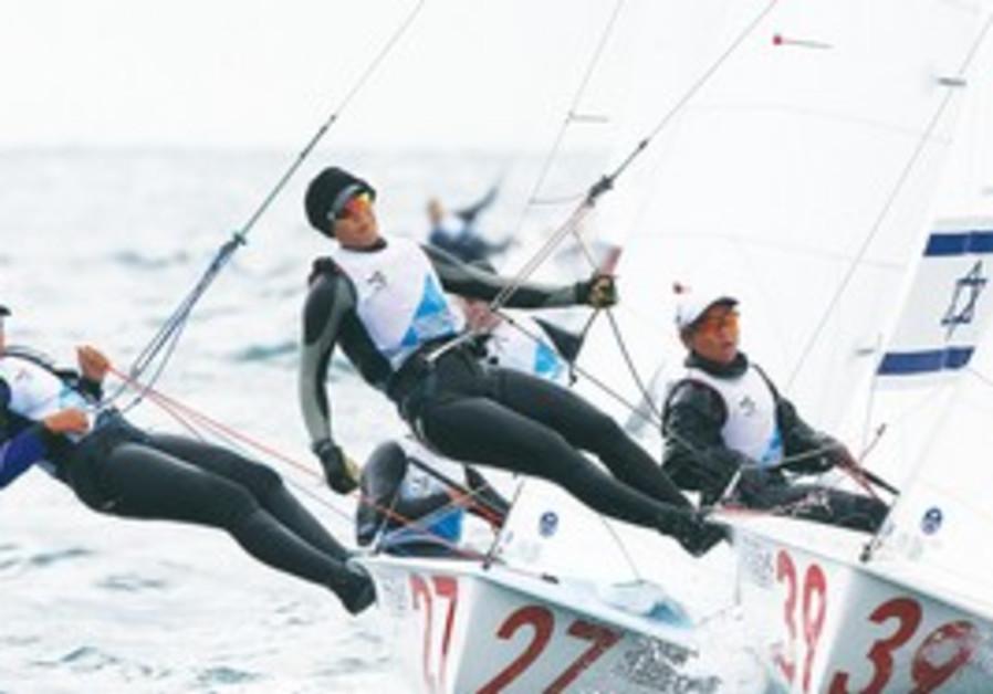 World Championships women's 470 Class sailing