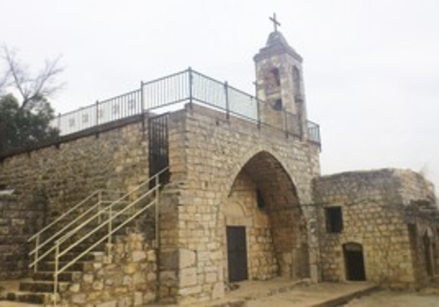 The St. Maroun Church in Jish