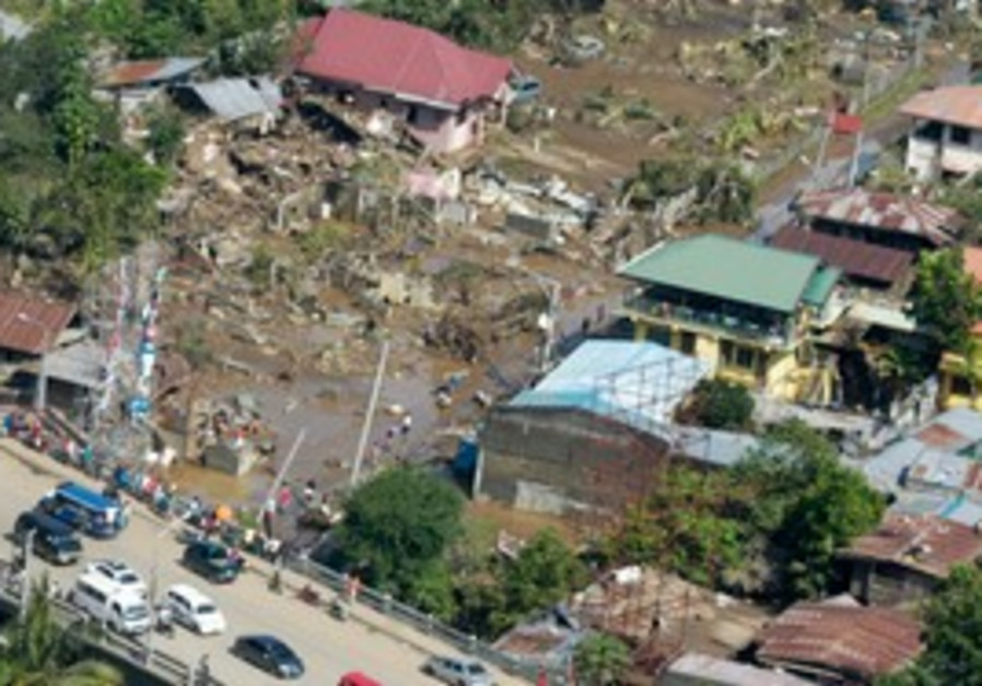 Typhoon Washi causes severe damage in Philippines
