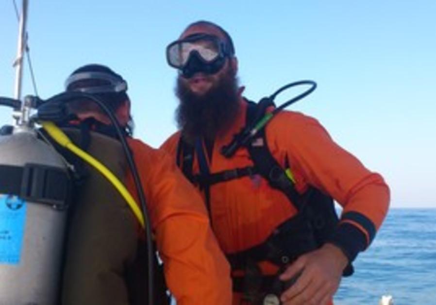 Haredi ZAKA diving course