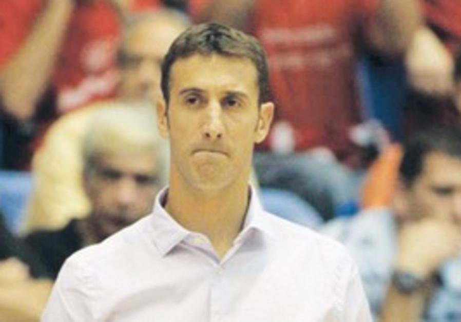 Hapoel Gilboa/Galil coach Lior Lubin