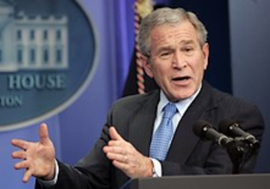 Bush: Congress stuffed spending bill with wasteful projects