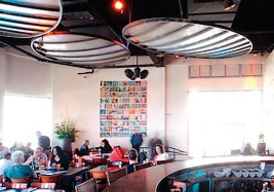 Inside Boya restaurant