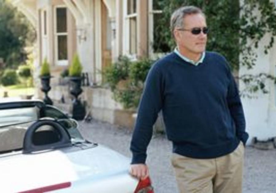 Man with luxury car [illustrative]