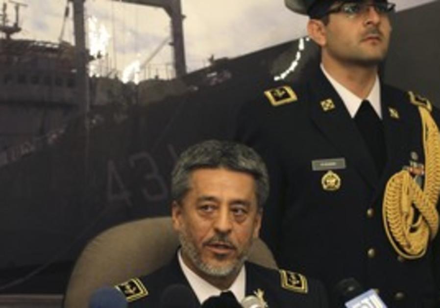 Habibulah, Iran navy commander
