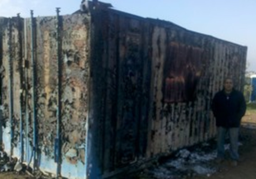Archaeological site damaged by vandals near Afula