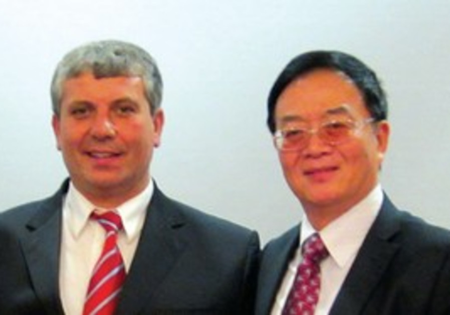 HUANGENG PAN with Shalom Simchon