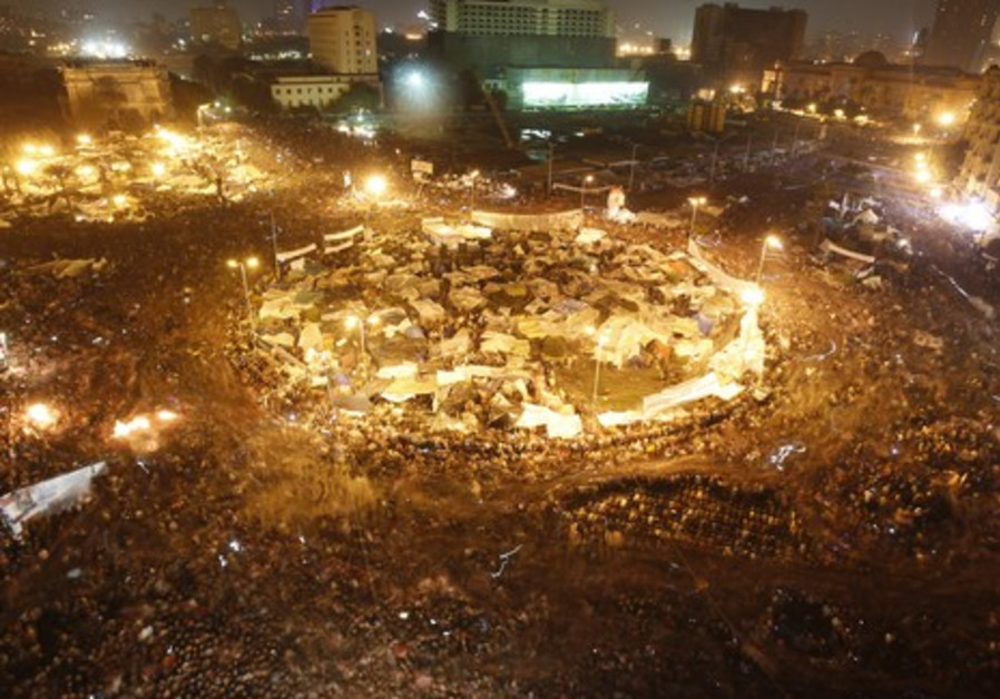Arab Spring protests topple regimes
